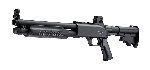 Fucile a pompa aria compressa - marca UMAREX WALTHER - modello T4E SG68 .68 RB CO2 - calibro .68 RB
