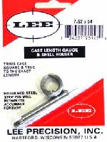 TRIMMER - marca LEE - modello 90147 Case Length Gauge & Shell Holder - calibro 7,62x54R - misura TRIMS CASE 90147