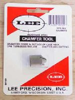 SBAVATORE - marca LEE - modello 90109 CHAMFER TOOL - calibro FITS ALL CALIBERS - misura HARDENED STEEL