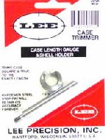 TRIMMER - marca LEE - modello Case Length Gauge e Shell Holder - calibro 30-06 - misura TRIMS CASE 90140