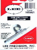 TRIMMER - marca LEE - modello Case Length Gauge & Shell Holder - calibro 270 WIN - misura TRIMS CASE