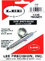 TRIMMER - marca LEE - modello Case Length Gauge e Shell Holder - calibro 7 REM.MAG - misura TRIMS CASE 90131