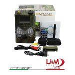 FOTOTRAPPOLA - marca LKM - modello FTT01 GSM SMS MMS 12MP - calibro FTT01 MMS - misura 12MP