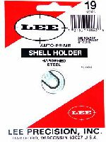 SHELL HOLDER - marca LEE - modello AUTO-PRIME SHELL HOLDER - calibro 30Luger - 30Mauser - 9mm Luger - 38Super Auto - 38ACP - 40S&W - 10mm Auto - misura #19 90023 - RICARICA ATTREZZI - SHELL HOLDER