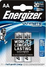 BATTERIE - marca ENERGIZER - modello 2026 AA STILO 1,5V ULTIMATE LITHIUM - calibro 1,5V - misura Litio - VARIE - BATTERIE - PILE