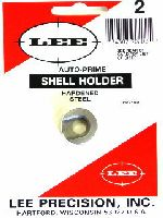 SHELL HOLDER - marca LEE - modello AUTO-PRIME SHELL HOLDER - calibro 25-06 REM - misura #2 - RICARICA ATTREZZI - SHELL HOLDER