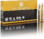 Cartucce - marca RWS - modello 12351 DK 11,7g DOPPELKERN 181gr - calibro 8x68S