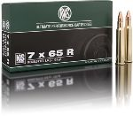 Cartucce - marca RWS - modello 11848 KS 10.5g KEGELSPITZE 162gr - calibro 7X65R