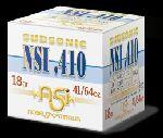 Cartucce - marca NOBEL SPORT - modello NSI.410 SUBSONIC 18 36/1/10 - calibro 36