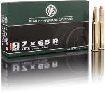 Cartucce - marca RWS - modello 2117592 HM 11,2g H-MANTEL 173gr - calibro 7x65R