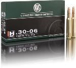 Cartucce - marca RWS - modello 11773 HM 11.7g H-MANTEL KH 181gr - calibro 30-06