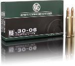 Cartucce - marca RWS - modello 11780 KS 10.7g KEGELSPITZE 165gr - calibro 30-06