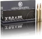 Cartucce - marca RWS - modello 11718 TM-S 6g 93gr - calibro 6,5x68