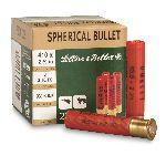 Cartucce - marca SELLIER & BELLOT - modello RED 16,5G CZ X 25 - calibro 410x76
