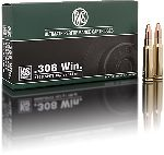 Cartucce - marca RWS - modello 11770 KS 9.7g KEGELSPITZE 150gr - calibro 308WIN