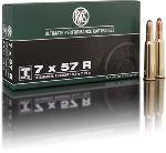 Cartucce - marca RWS - modello 11748 TM 9,0g TEILMANTEL-RK 139gr - calibro 7x57R