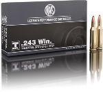 Cartucce - marca RWS - modello 11687 TM-S 6,5g 100gr - calibro 243WIN